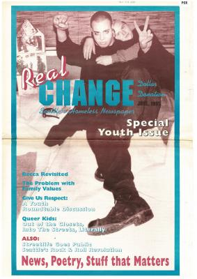 Real Change News August 1995 Cover
