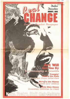 Real Change News August 1, 1995 Cover