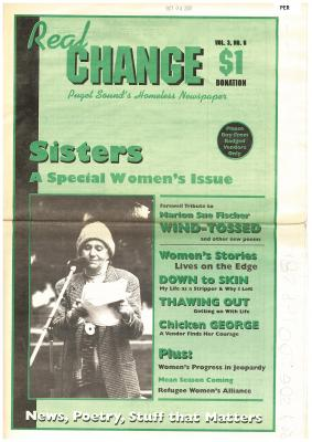 Real Change News June 1996 Cover