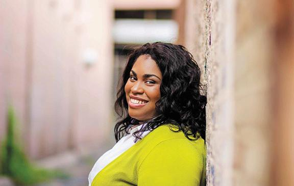 Angie Thomas, photo by Anissa Hadouk