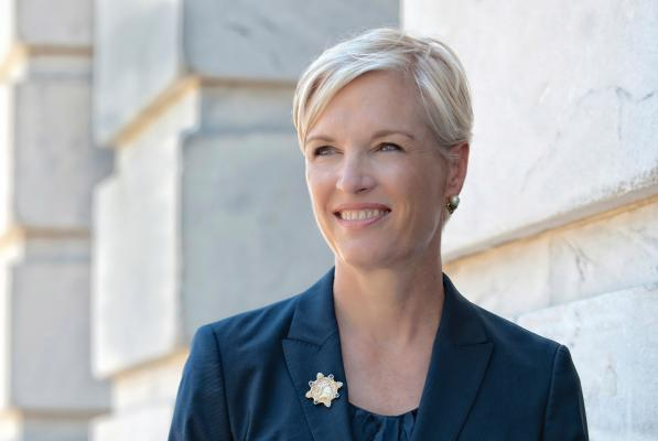 "Planned Parenthood Federation of America President Cecile Richards' new book is titled ""Make Trouble."" It's a subject she knows well. Photo courtesy of Street Roots"