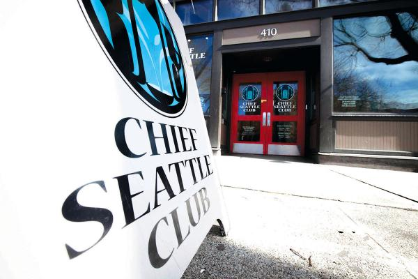 Chief Seattle Club is located in Pioneer Square. Photo by Ngoc Tran