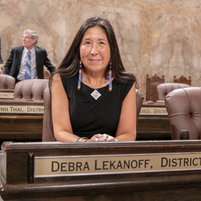 Debra Lekanoff is a Washington legislator representing the 40th House District, which includes San Juan County and parts of Skagit and Whatcom counties. Photo courtesy of Instagram @debrawa40