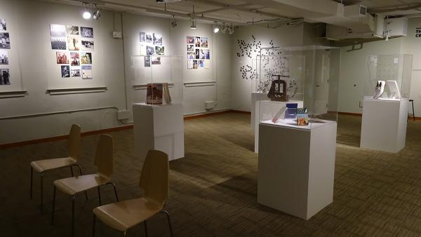 Artist Inye WWokoma's exhibit at NAAM draws on his experiences growing up in a neighborhood that has seemingly lost its heritage to gentrification. Photo by Lisa Edge