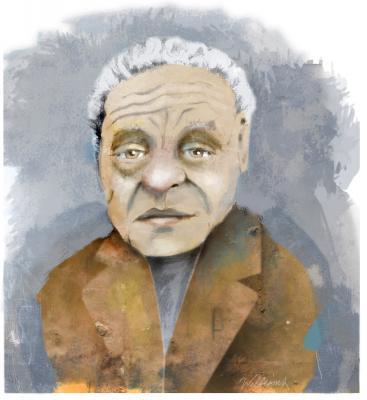 Gar Alperovitz illustration by Jon Williams.