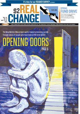Real Change Cover May 13, 2015