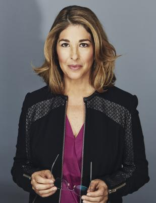 Naomi Klein, photo by Kourosh Keshiri