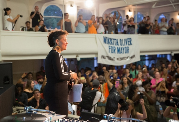 Mayoral candidate Nikkita Oliver. Photo by Alex Garland