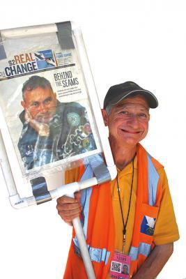 Real Change vendor Shelly Cohen