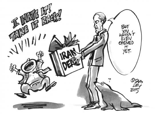 Sam Day Cartoon (July 22, 2015 Issue)