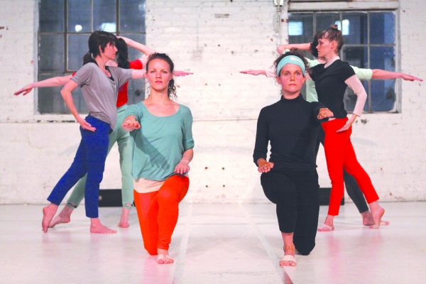 "Choreographer Beth Gill's ""Electric Midwife"" is a performance by six dancers."
