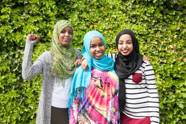 Global Islamophobia Awareness Day organizers and volunteers