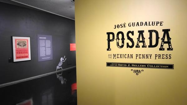 """""""José Guadalupe Posada and the Mexican Penny Press"""" runs until Aug. 19 at Bellevue Arts Museum."""