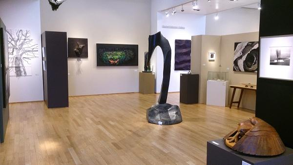 """Revering Nature"" runs until June 4. (center) ""Unfolding Universe"" by Will Robinson."
