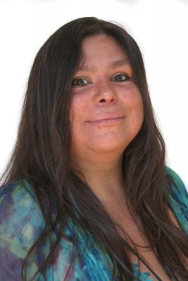 Real Change vendor Sabina Lopez