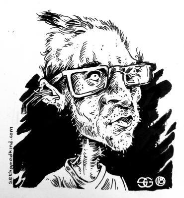A Seth Goodkind self-portrait
