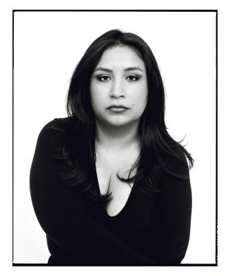 Dior Vargas is a Latina feminist mental health activist. Photo by Norman Jean Roy