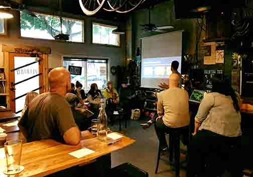 Be:Seattle hosts Tenant Rights Bootcamps at coffee shops such as Peleton and community centers around Seattle. Photo courtesy of Be:Seattle