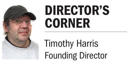 Director's Corner logo Tim Harris