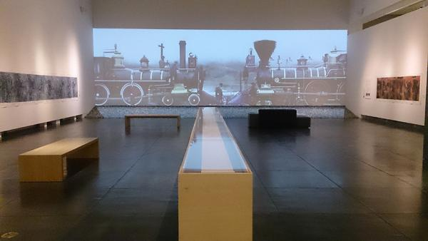 """""""Zhi LIN: In Search of the Lost History of Chinese Migrants and the Transcontinental Railroads"""" will be on display at Tacoma Art Museum until Feb. 18. His show at Prographica/KDR in Seattle runs until January 27."""