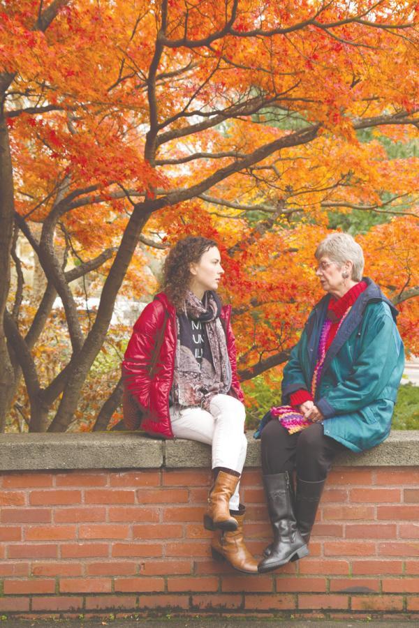 Danielle Fulfs and Dorothy Van Soest