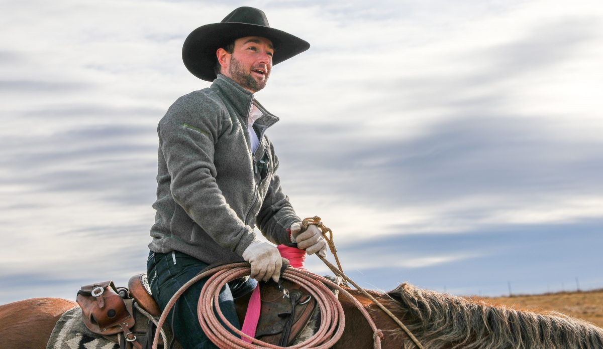 Henderson is a fourth-generation cattle rancher. He is moving his calf birthing season to fall instead of spring for the milder climate conditions and the longer hours of daylight. He has also started selling some meat directly to customers in the hopes o