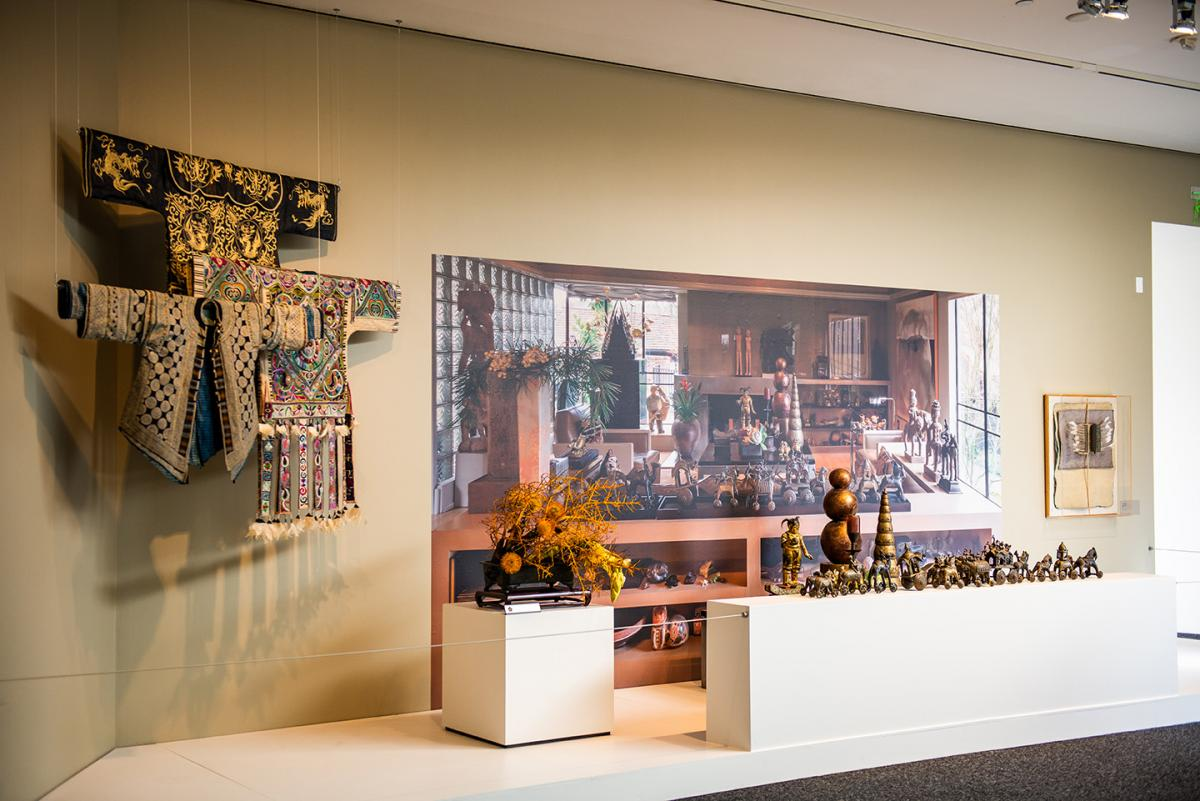 "Gallery view of ""Ron Ho: A Jeweler's Tale"" at Bellevue Arts Museum. Photo by Emilie Smith"