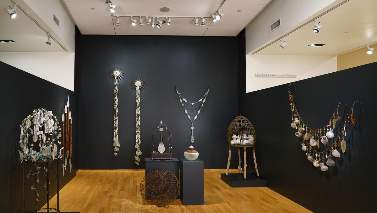 "Installation view of ""Synchronicity"" at Bainbridge Island Museum of Art. Photo courtesy BIMA"