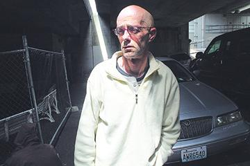 Bob Purcell has been homeless in Seattle for six years. Photo by Jon Williams, Real Change.