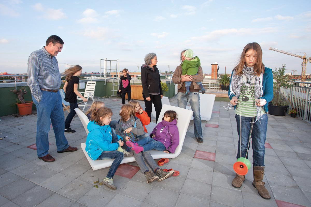 Residents in Germany seeking a more connected, more affordable option are turning to cohousing. Photo by Christian Muhrbeck