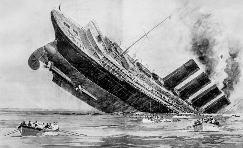 Dead Wake: The Last Crossing of the Lusitania   |  By Erik Larson