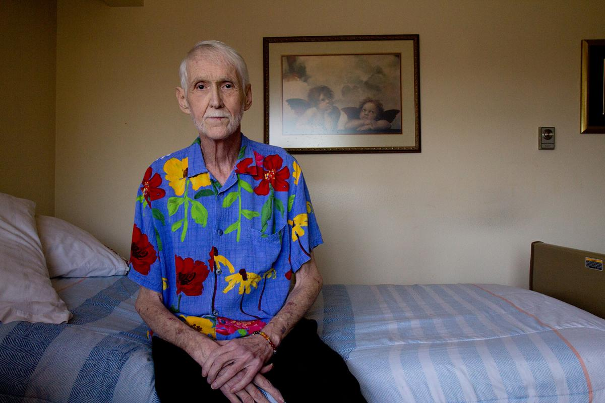 Robert Fuller did not want to spend his final days suffering, so he turned to Death with Dignity. Photo by Wes Sauer