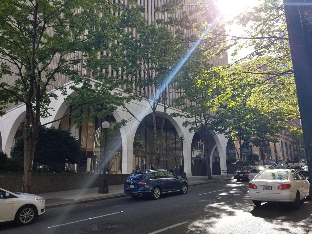 The King County Bar Association's Housing Justice Project has its offices in the IBM building at 1200 5th Ave. in downtown Seattle. The project received funds through the Community Development Block Grant program, a flexible source of funding that can be