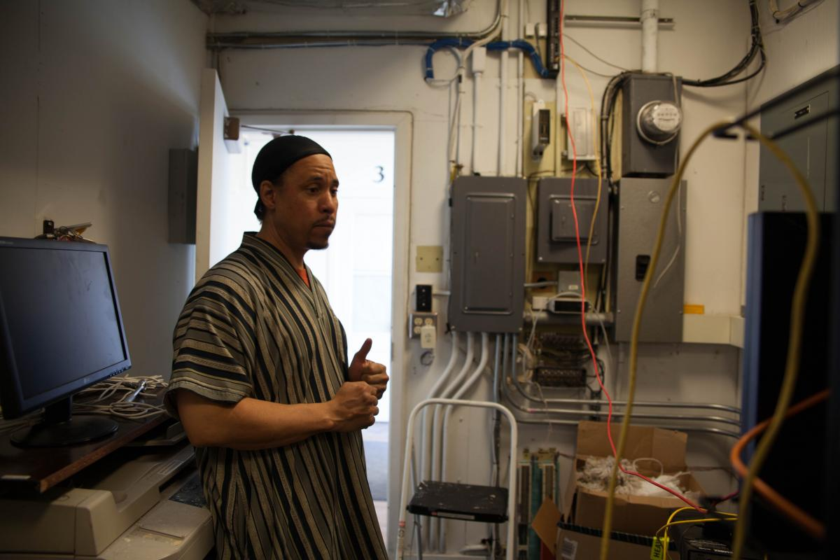 Malakhi Kaine built the destroyed network on a small budget and is working to rebuild lost connections before spring break camps begin in April.