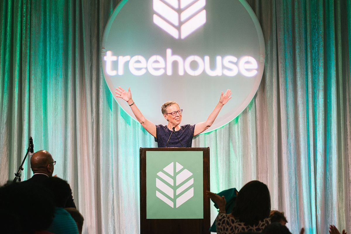 Treehouse CEO Janis Avery has fostered many changes to the system in her two decades overseeing the organization. Photo courtesy of Treehouse