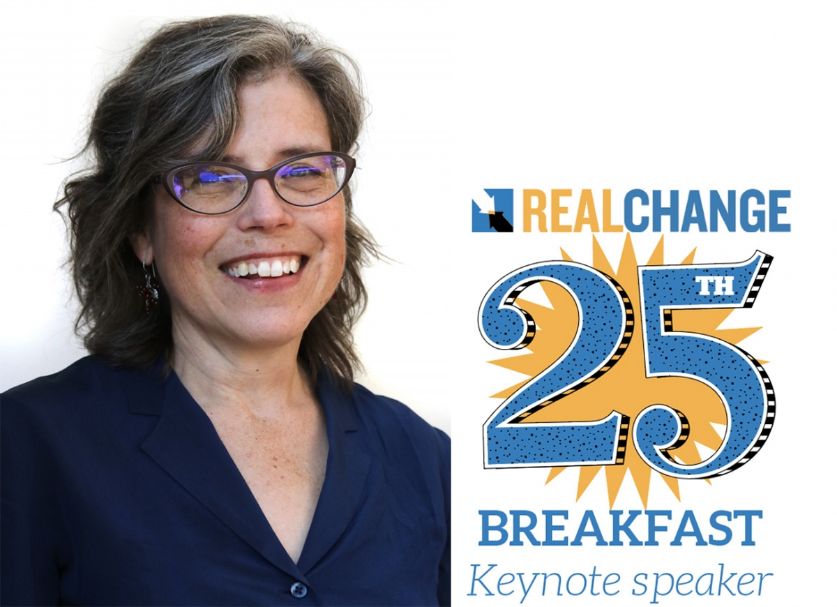 Lisa Daugaard is the executive director of the Public Defender Association. She's the keynote speaker of the Real Change annual breakfast scheduled for Sept. 19. Photo by Jon Williams