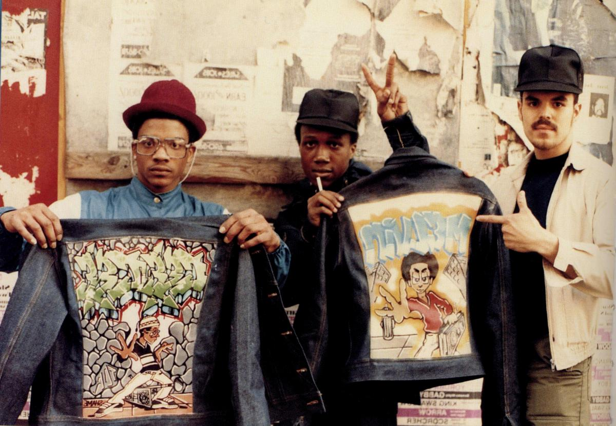 """Brooklynites captured by Jamel Shabazz, a photographer who documented Brooklyn's Black and immigrant communities in the 1970s, '80s and '90s. Shabazz is featured in the documentary """"My Brooklyn."""""""