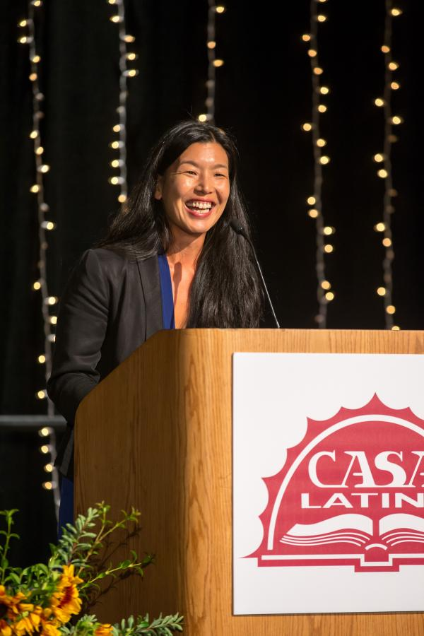 Director of the National  Domestic Workers Alliance Ai-Jen Poo has been organizing domestic workers and immigrant women since 1996.