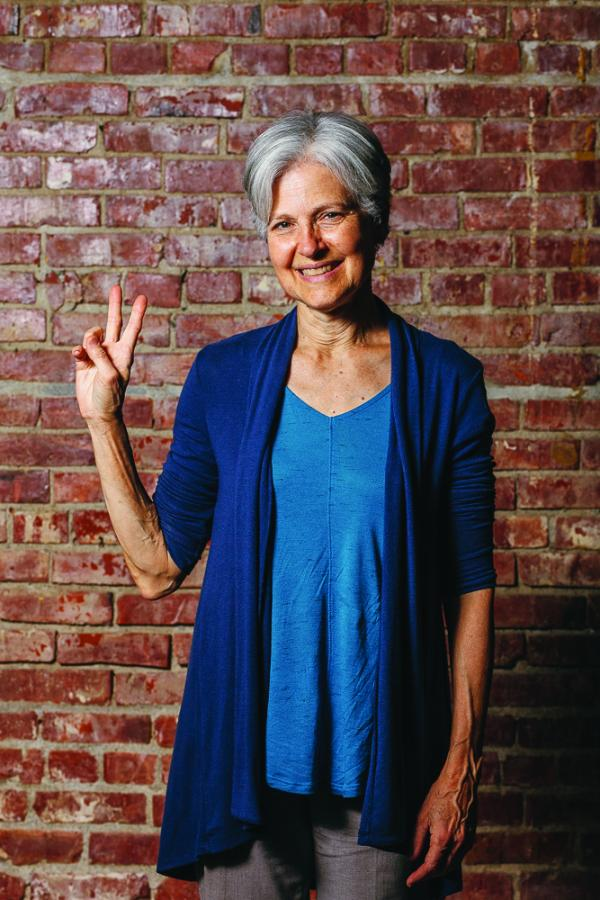 Jill Stein is a Green Party 2016 presidential candidate