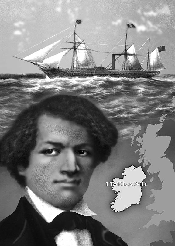 A historian explores Fredrick Douglass' deep ties to Ireland
