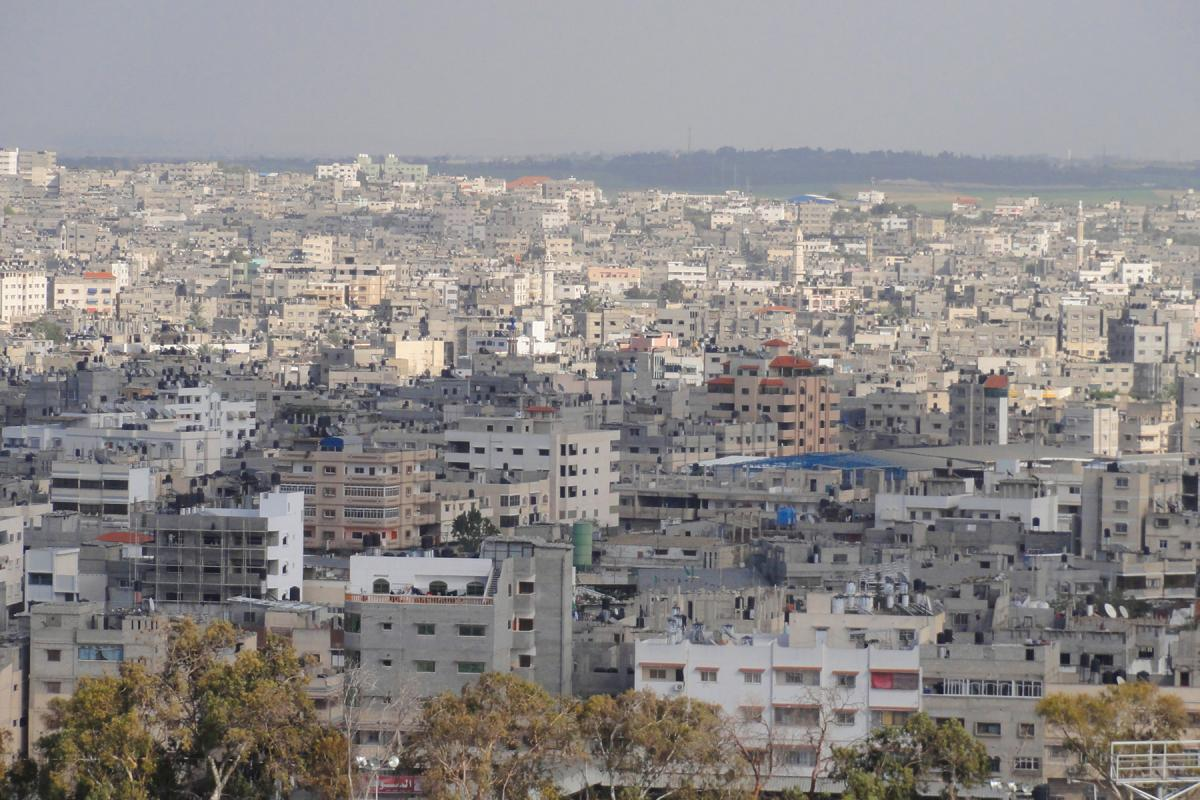 Photo of Gaza by Mujaddara, Wikimedia