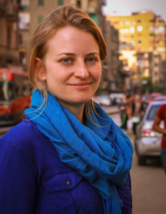 British journalist Rachel Aspden lives in and covers Egypt for The Guardian. Photo courtesy of Other Press