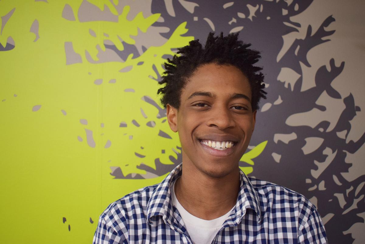 Ishmael Jacob Daniel Simpson advocates for more support for foster youth aging out of the system. Photo by Mary Hubert