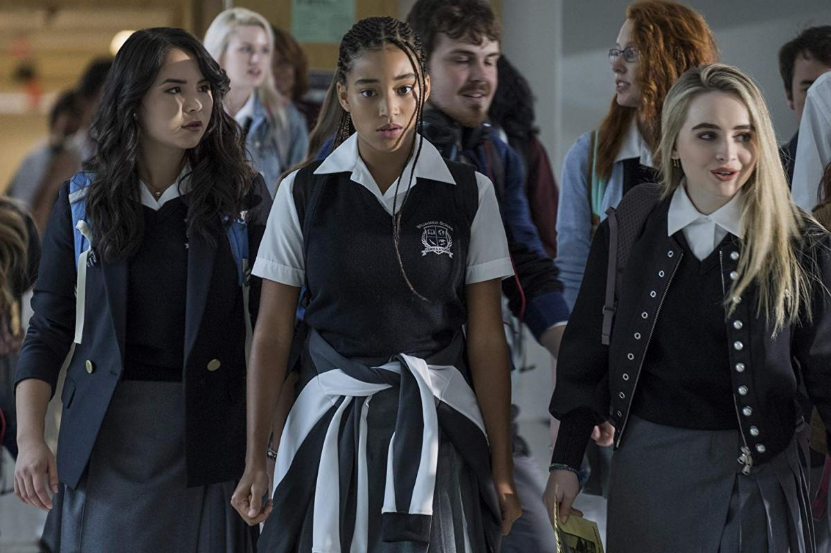 Amandla Stenberg plays Starr Carter, who attends a mostly White high school. Photo courtesy of 20th Century Fox