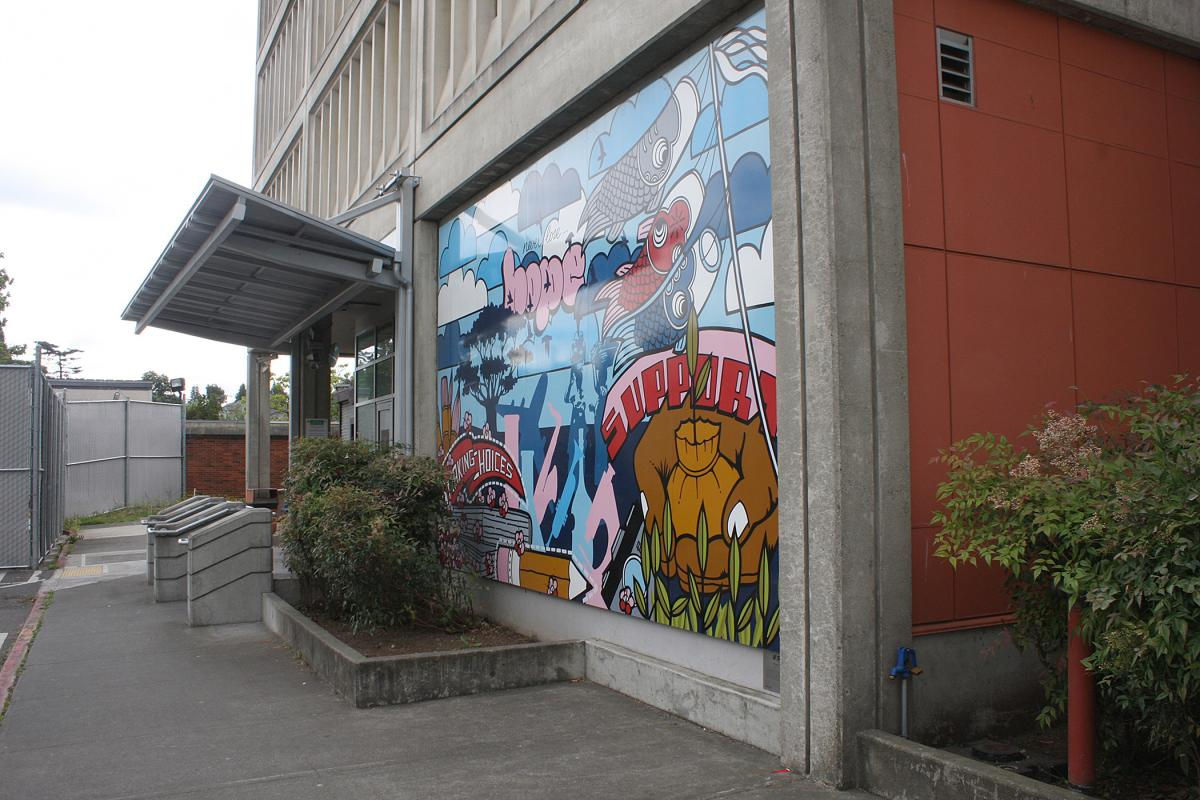 The King County Youth Detention Center in the Central District. File photo.
