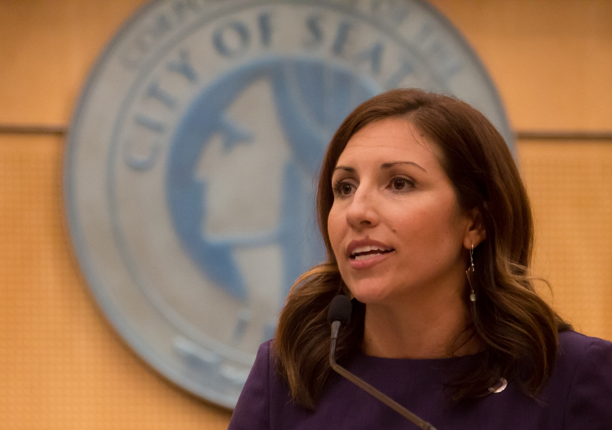 Councilmember Teressa Mosqueda currently holds Seattle City Council Position 8. She supports increasing the amount of affordable public housing currently offered by the city. Positions 8 and 9 are at-large, meaning they are elected by, and represent, the