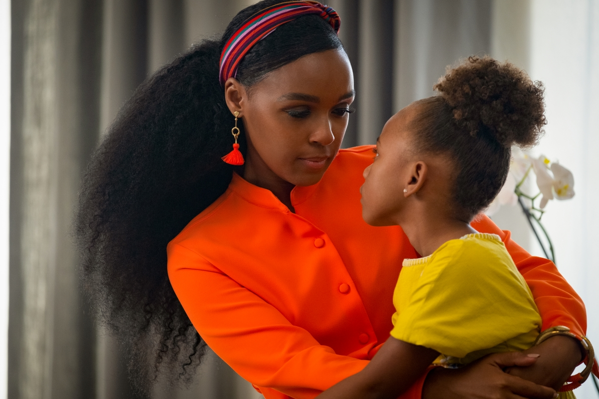 "Janelle Monáe and London Boyce in ""Antebellum"" (Photo by Matt Kennedy)"