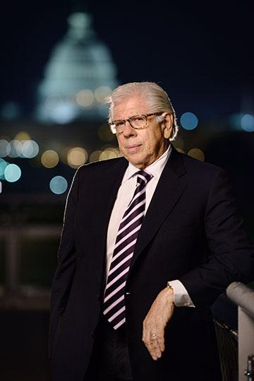 Veteran journalist Carl Bernstein at the Newseum in Washington, D.C., in 2014. Photo by Sam Levitan