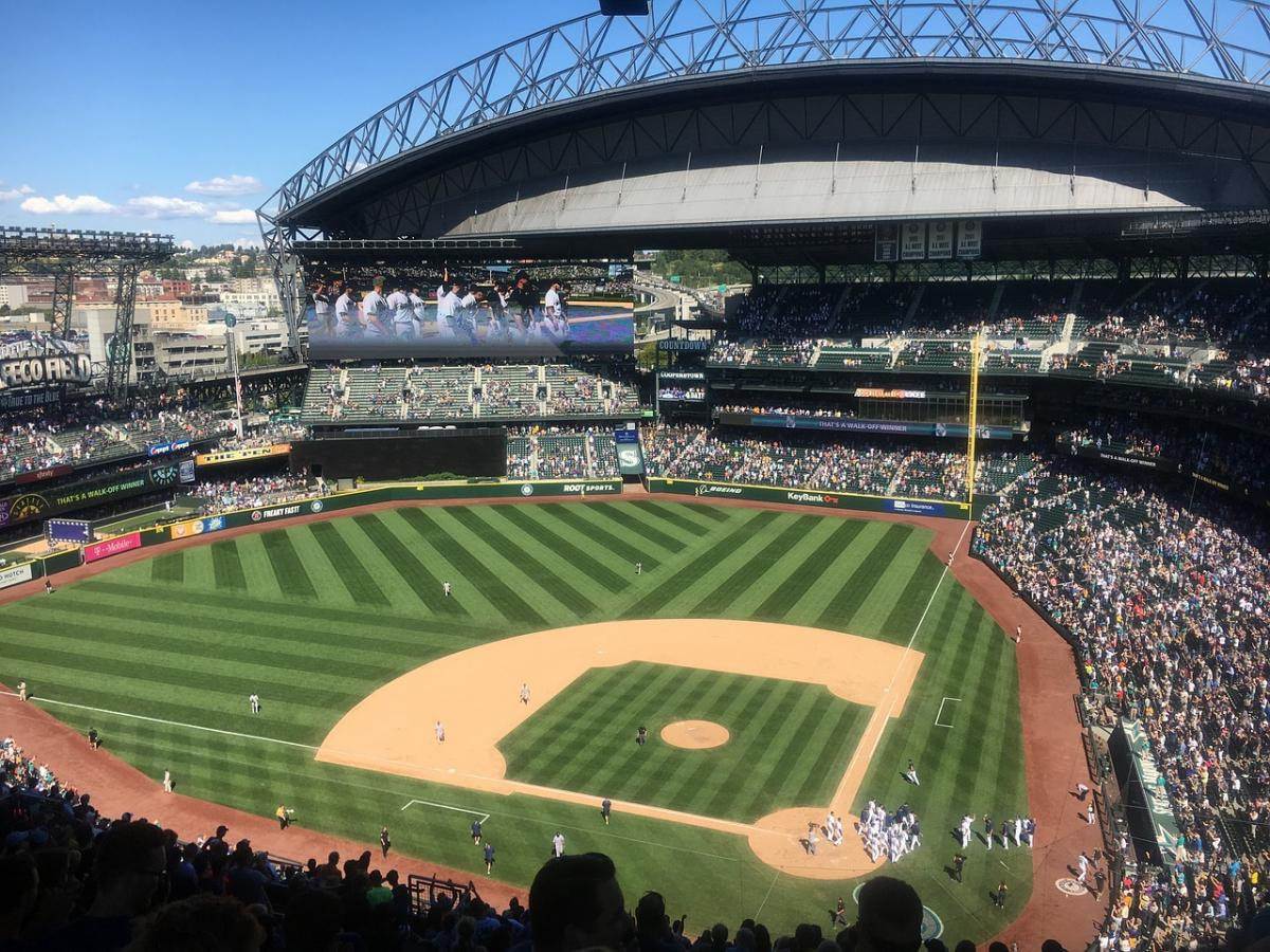 Stock photo of Safeco Field from Pixabay.