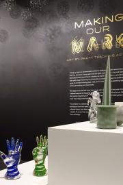 """Making Our Mark: Art by Pratt Teaching Artists"" runs until April 8, 2018."